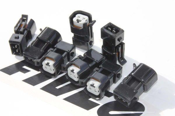 EV6 EV1 wireless fuel injector adapters from Fiveomotorsport