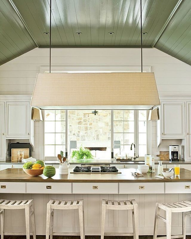 Get ready for fall by utilizing your ceiling. Add color ...