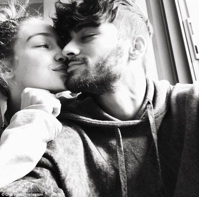 Gigi Hadid posts intimate photo with Zayn Malik for Valentine's Day – Zigi
