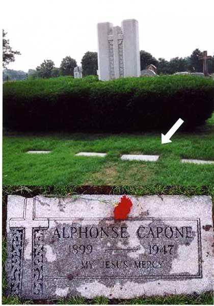 Photo Gallery Famous Graves Al Capone Headstones