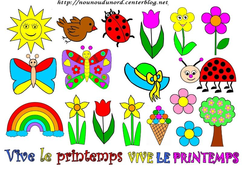 Coloriage Couleur Printemps.Printemps A Colorier A Gommettes Et En Couleur Country Stickers