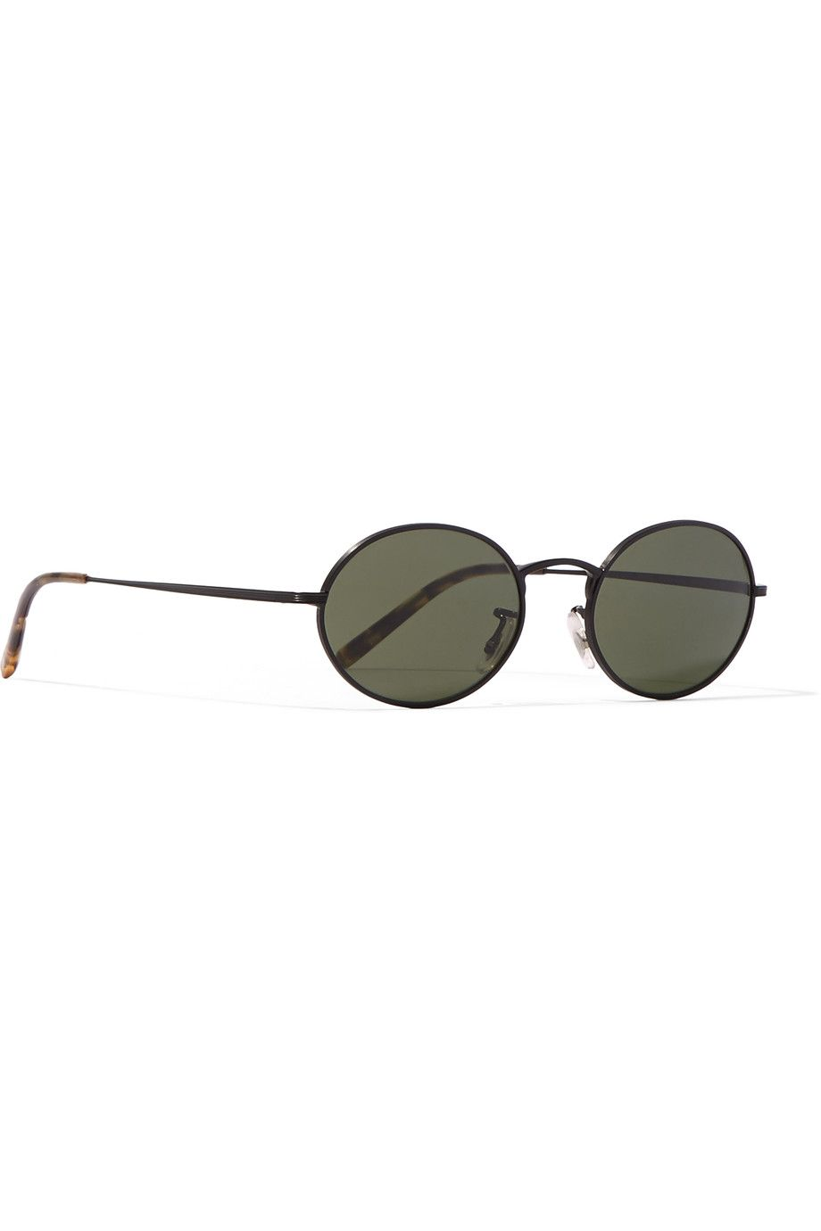 Oliver Peoples | + The Row Empire Suite round-frame matte-acetate ...