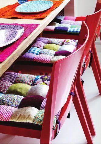 Color Inspiration from Rice | Diy küche, Stuhlkissen und Nadel und Faden