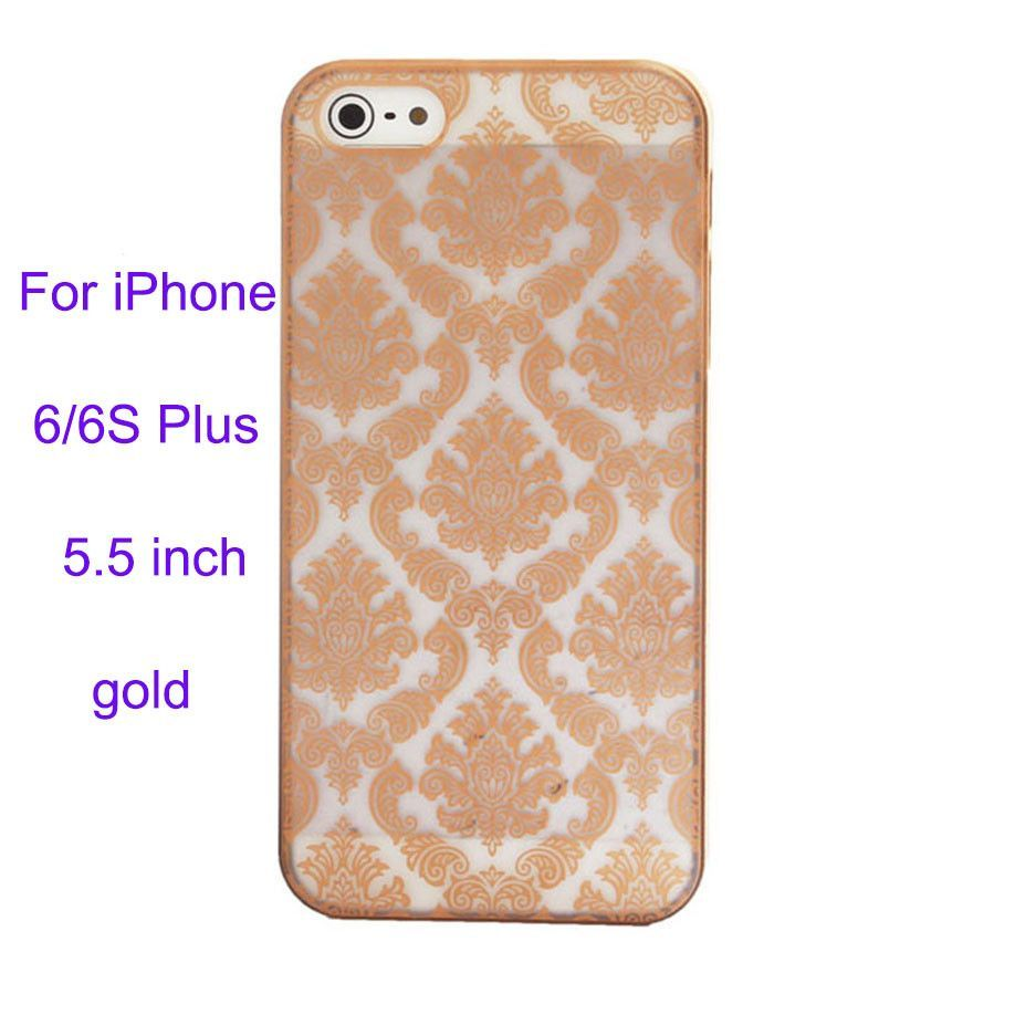 mobile phone accessories phone Cases Case Cover For iPhone 5S Damask Vintage Pattern Matte Engraved Brushed Crust plastic hard