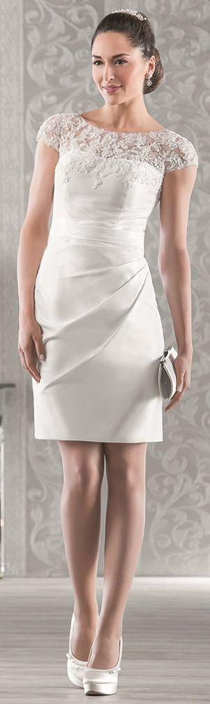 Kurzes weibes kleid standesamt