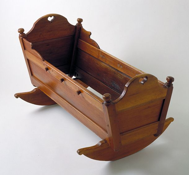 Cherrywood Baby S Cradle Us 1780 99 An Example Of