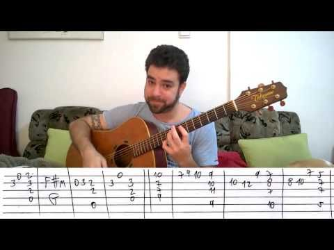 Fingerstyle Tutorial: I Started A Joke - Guitar Lesson w/ TAB ...
