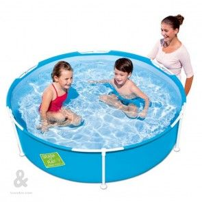 Piscina Infantil Redonda Bestway My First Frame Pool 152x38cm Sin