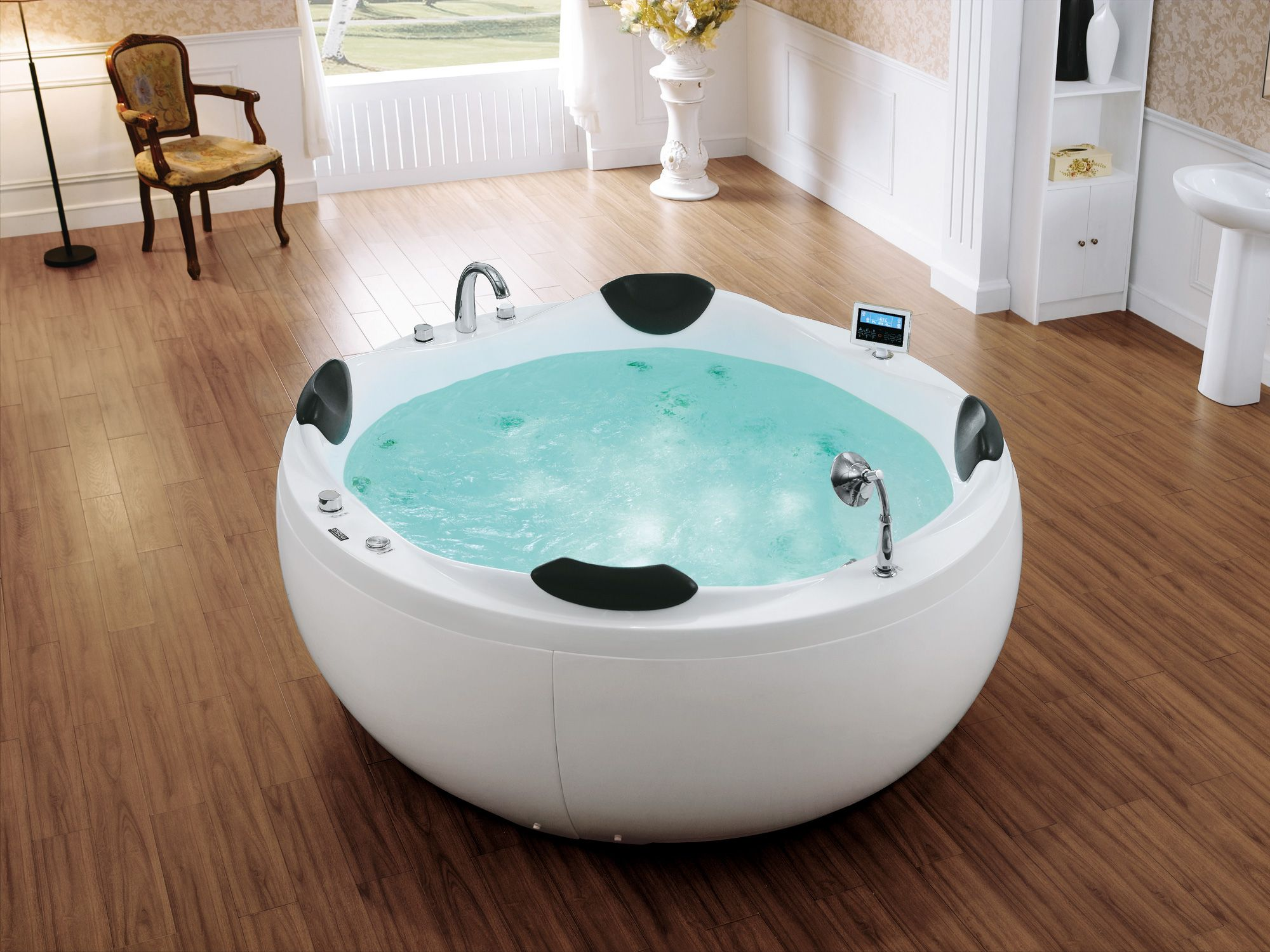 A701 SSWW Round Massage Bathtub | Massage Bathtub | Pinterest ...