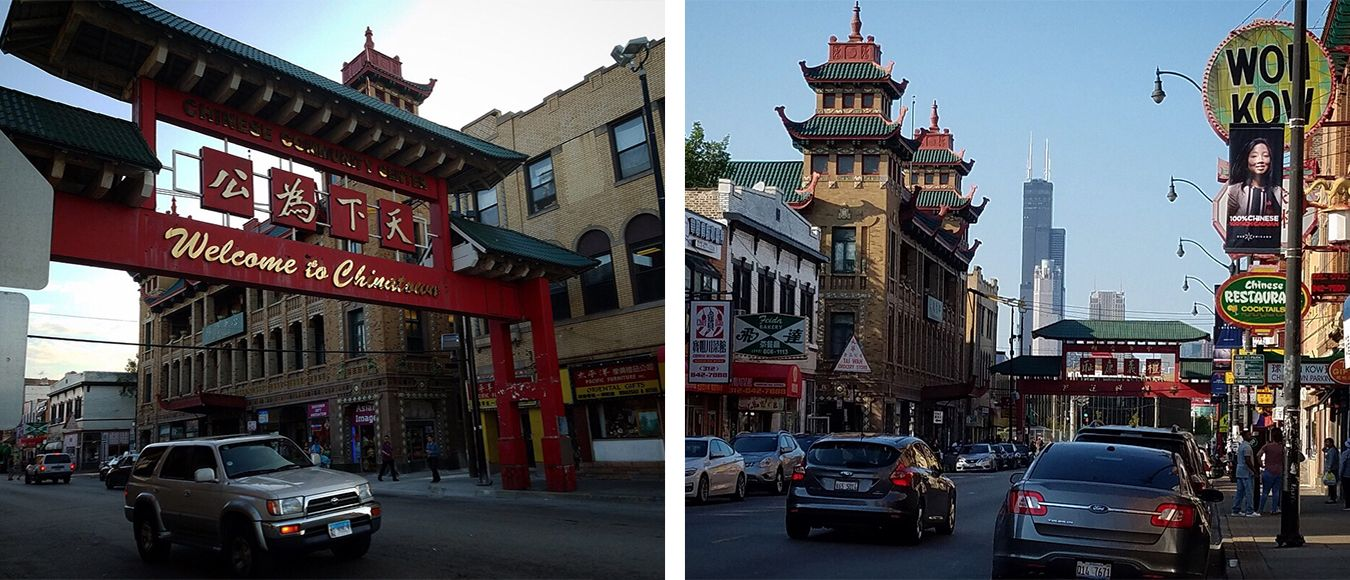 Chicago s Chinatown neighborhood near Cermak and Wentworth was