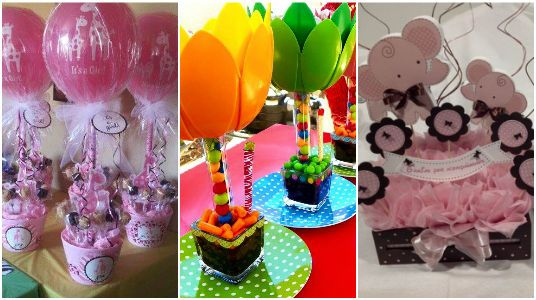 15 ideas para elaborar centros de mesa para fiestas for Ideas para fiestas infantiles