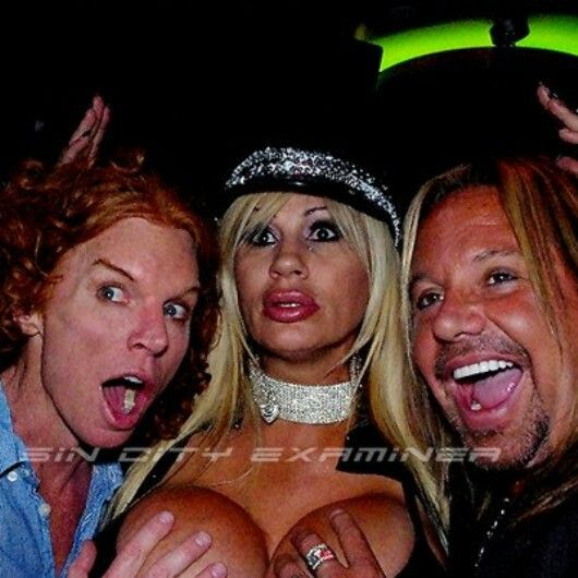 Carrot Top Vince Neil Lacey Wildd Laceys World