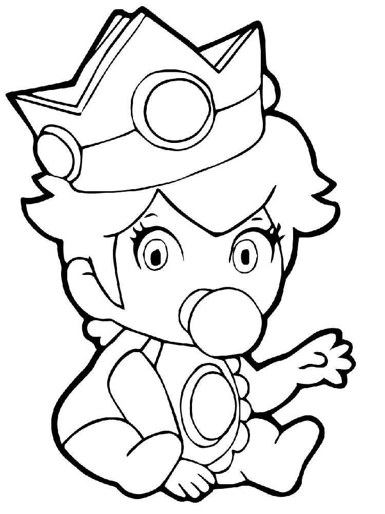 28+ Cute princess peach coloring pages ideas