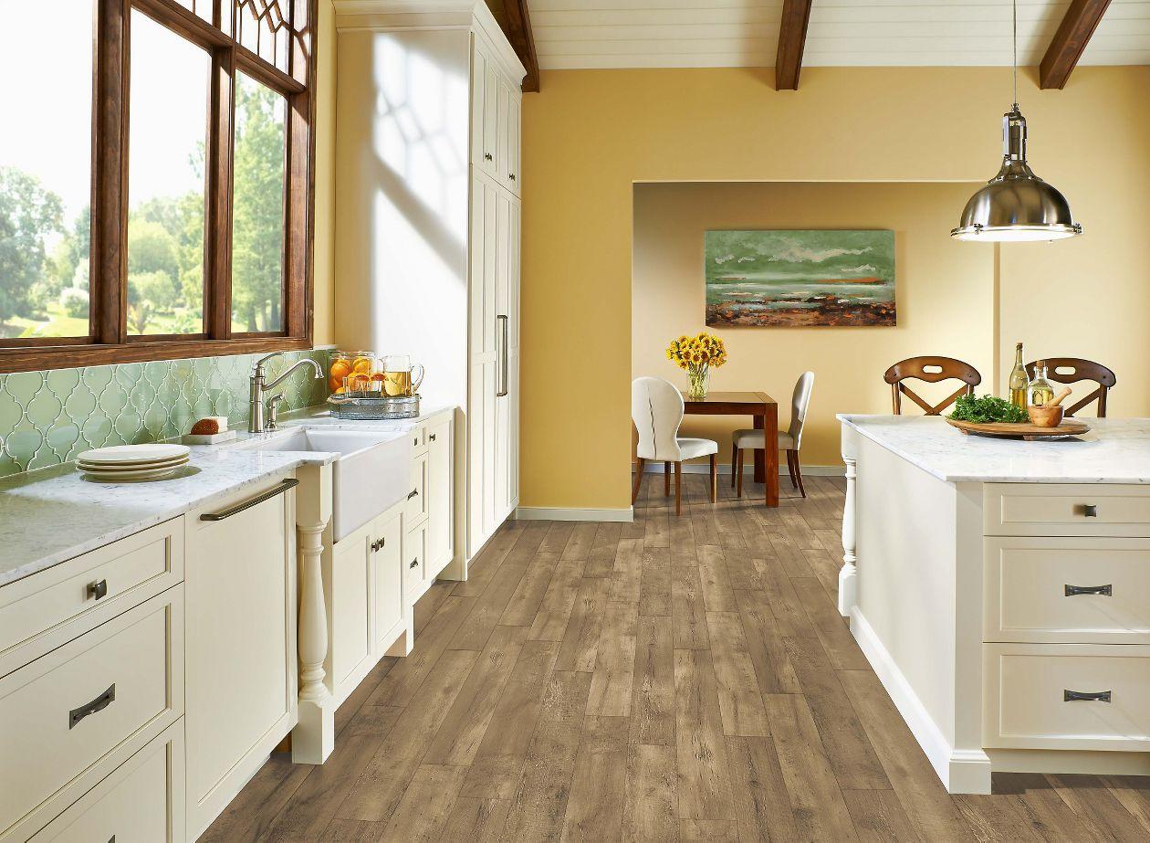 armstrong luxe farmhouse plank natural 8mm x 7 x 48 kitchen flooring luxury vinyl flooring on farmhouse kitchen tile floor id=74056