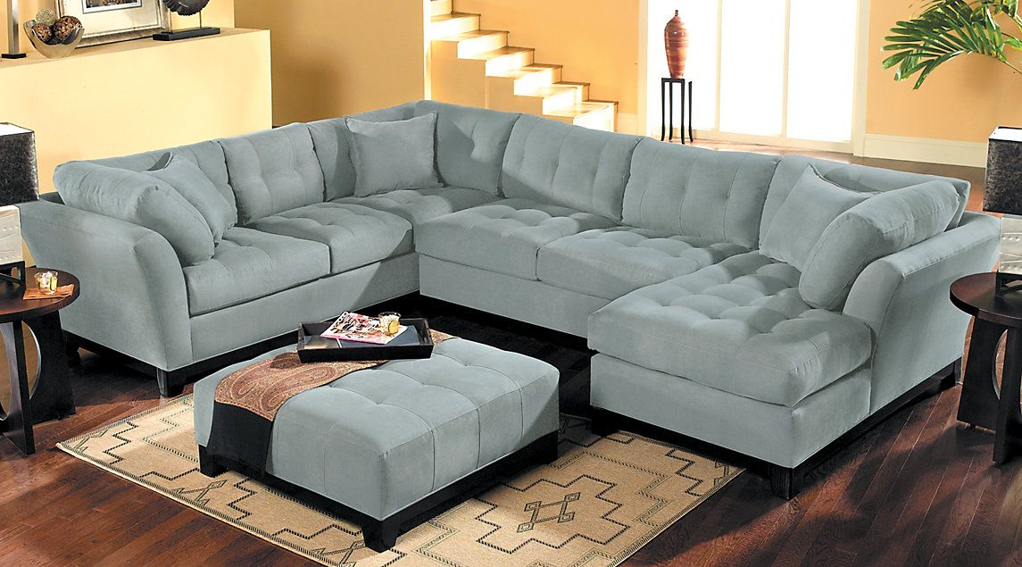 Affordable Sectional Living Room Sets Rooms To Go Furniture ☆ Lubbock House ☆ Living Room