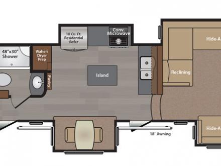 Floor Plans 5th Wheel Front Living Room Floor Plan Luxury 5th
