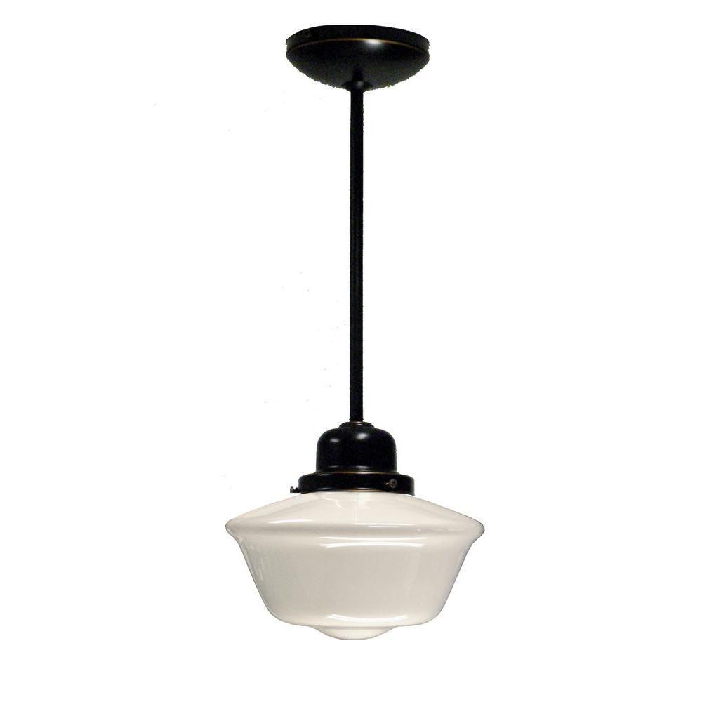 Marquis Lighting 1 Light Oil Rubbed Bronze Pendant CLI QU9606 912