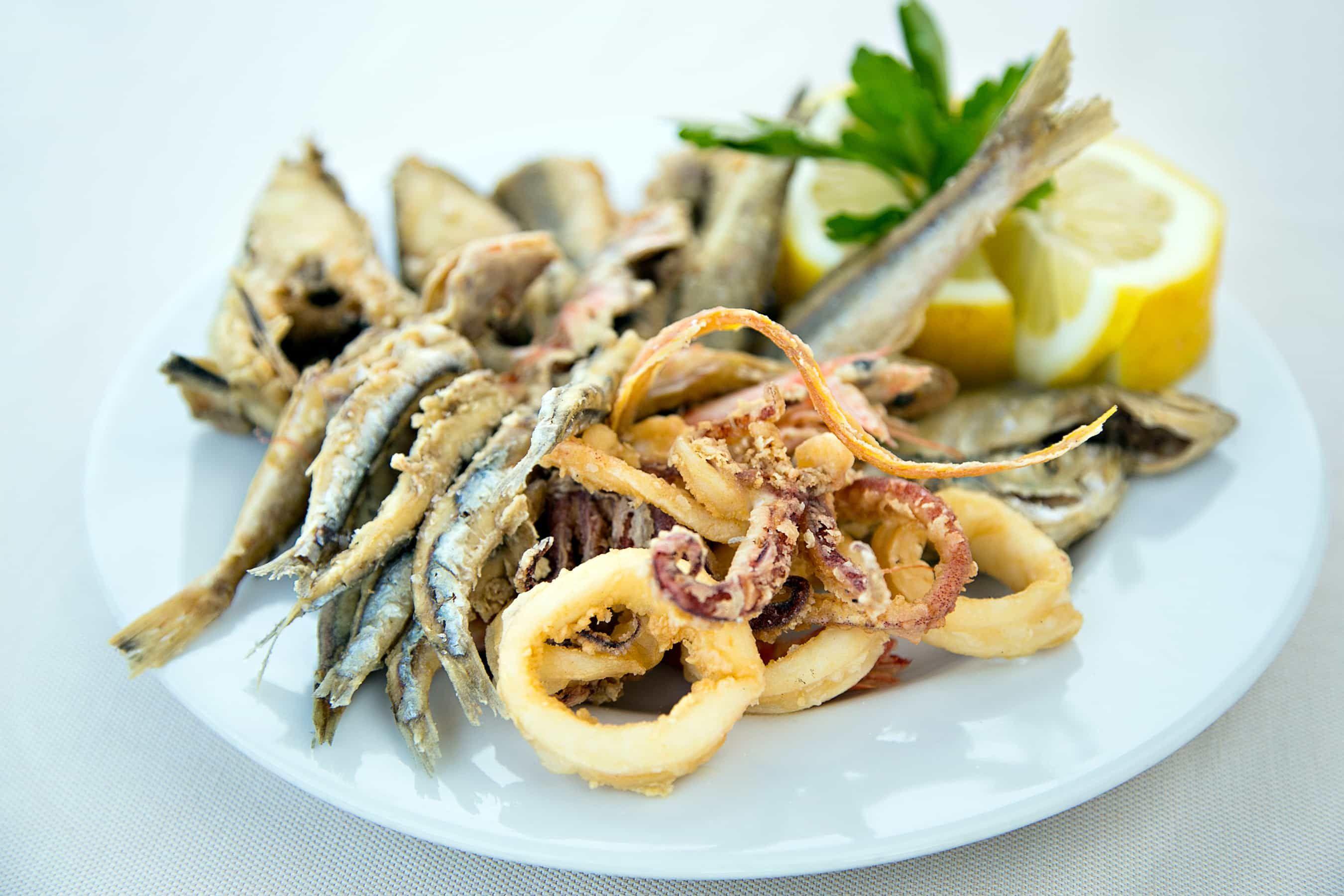 Fritto Misto Di Pesce Recipe 2 Ricette Pescefish Ethnic