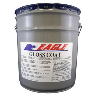 Eagle 5 gal  Gloss Coat Clear Wet Look Solvent-Based Acrylic