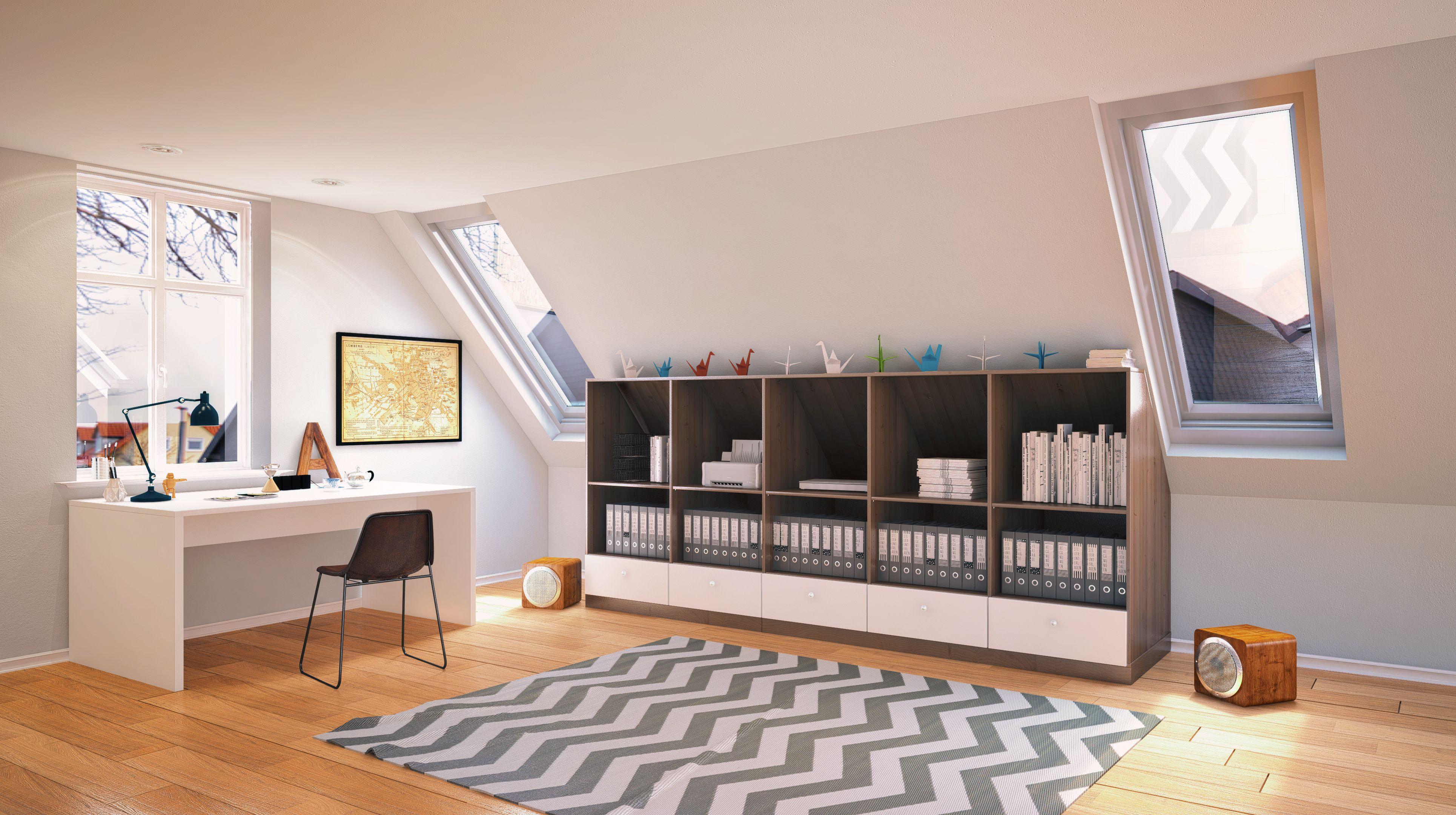 Perfekt passende Büromöbel erleichtern die tägliche Arbeit im Home ...
