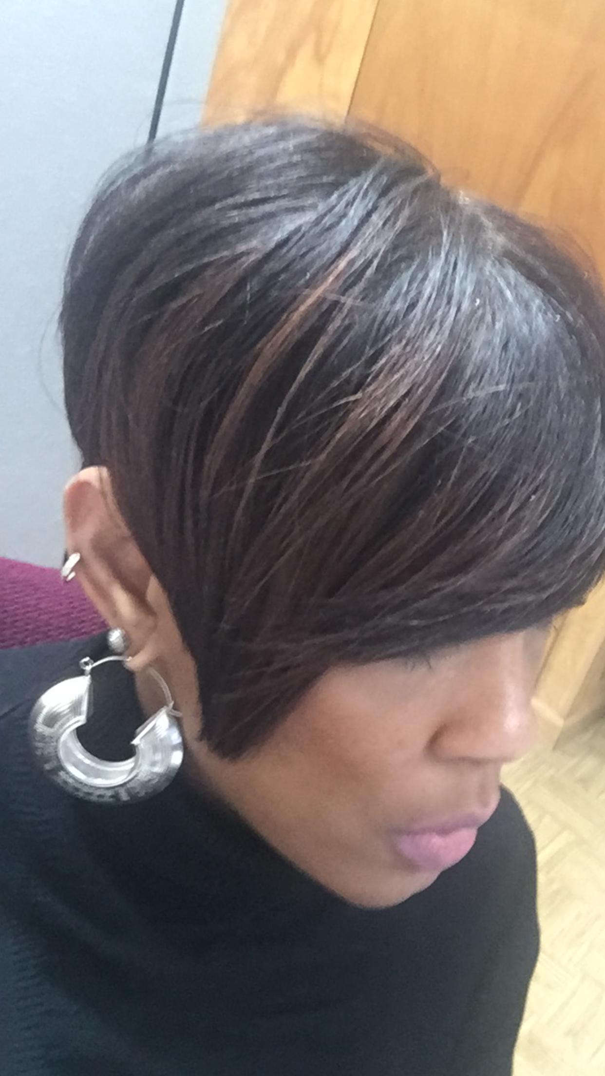 pin on short hair rocks! (african-american styles)