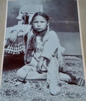 KIOWA BOY , circa 1895