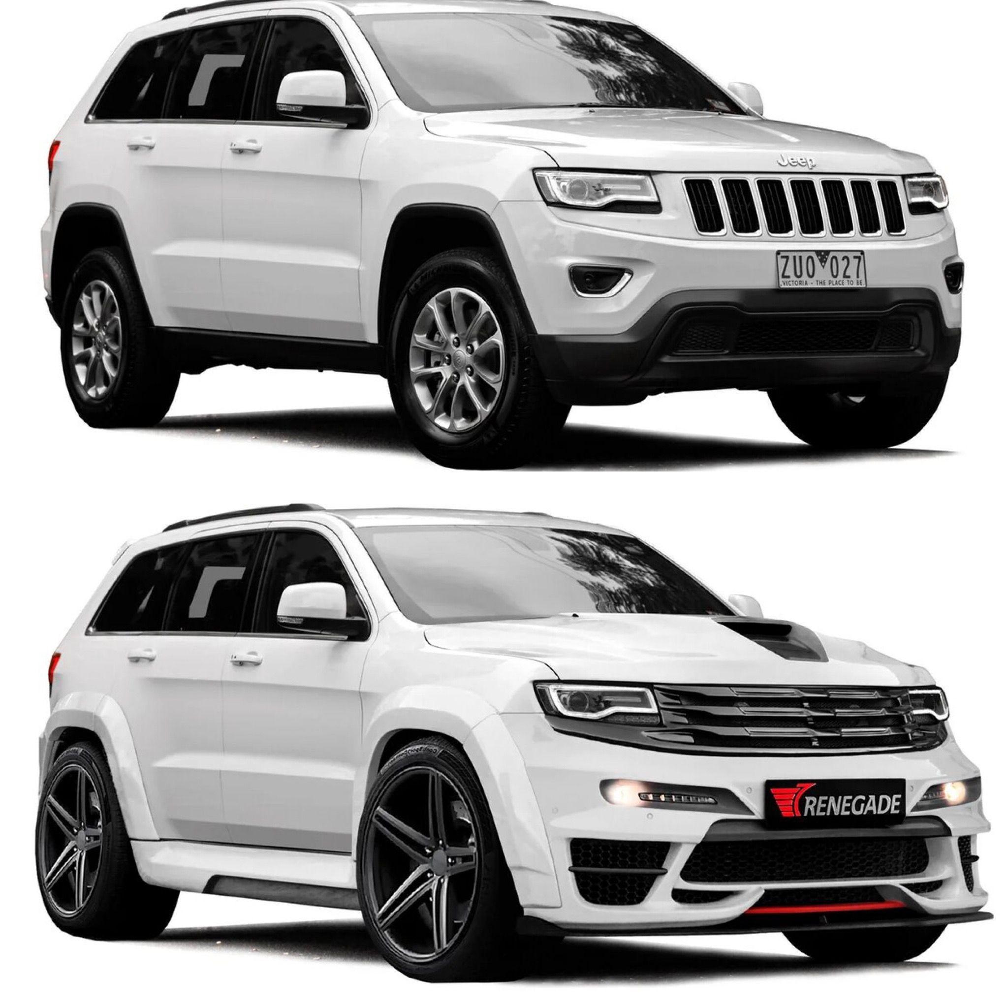 Tyrannos Body Kit V2 For Jeep Gc Wk2 Jeep Srt8 Jeep Grand Cherokee Srt Srt Jeep