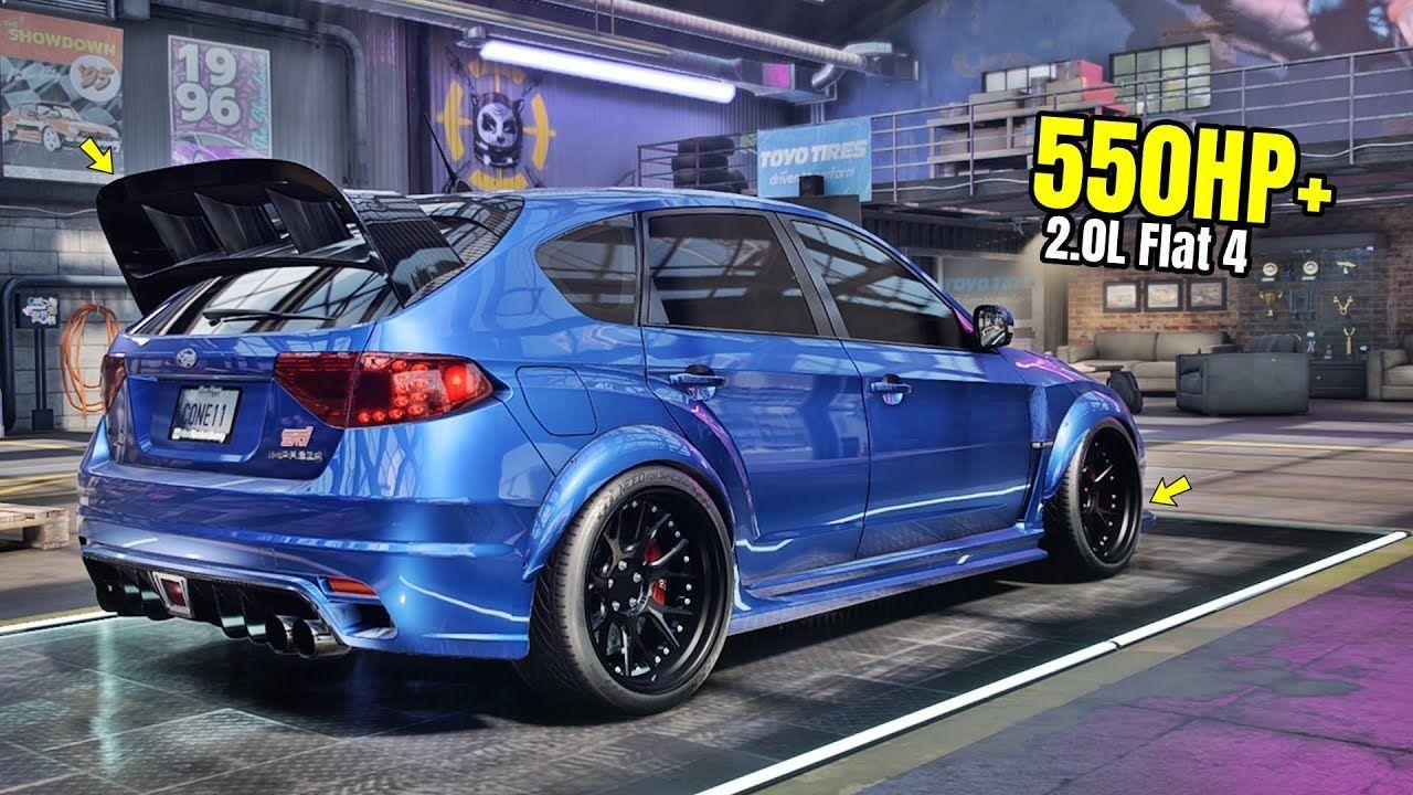 Need For Speed Heat Gameplay 550hp Subaru Impreza Wrx Sti Customizati In 2020 Ford Trucks Wrx Subaru Impreza
