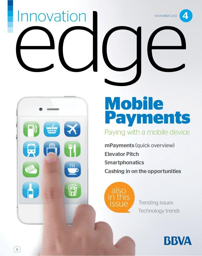 Bbva Innovation Edge Mobile Payments English Mobile Payments Payment Technology Trends