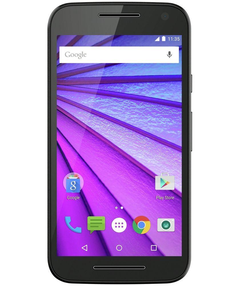 super popular 88d3d 8bf24 Buy Sim Free Motorola Moto G 3rd Gen Mobile Phone - Black at Argos ...