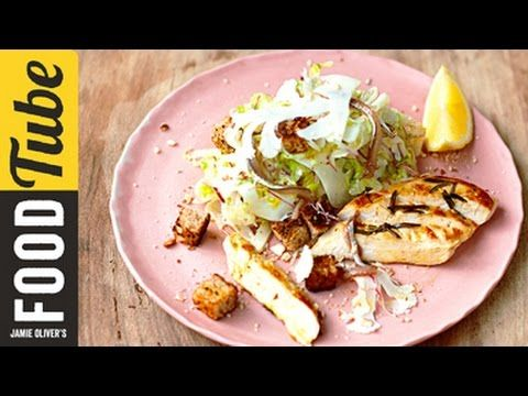 Jamie S Chicken Caesar Salad Is Lighter Fresher And Half The
