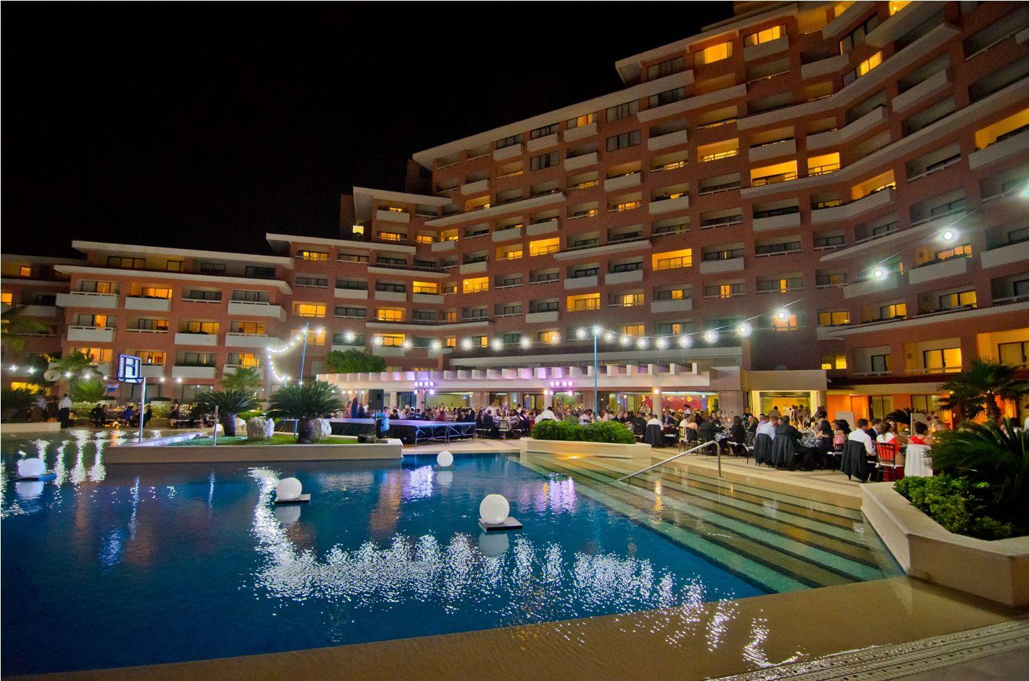 Upper Pool Terrace Omni Cancun Hotel Villas Cancun Omni