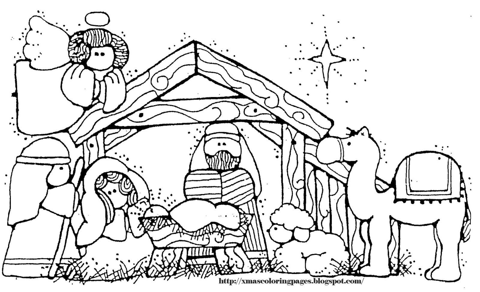 Picture Of Baby Jesus In A Manger To Color Jesus Coloring Pages Nativity Coloring Nativity Coloring Pages