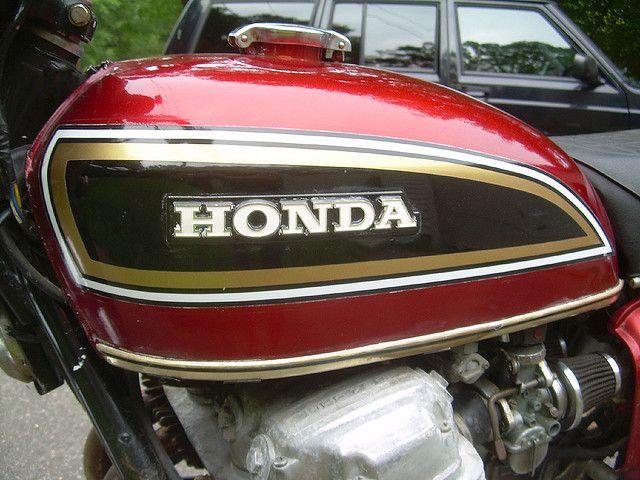 1975 Honda Cb750 K5 Gas Tank And Emblem Honda Cb750 Honda 750 Honda