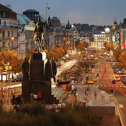 Wenceslas Square in Prague, Czech Republic   Sygic Travel