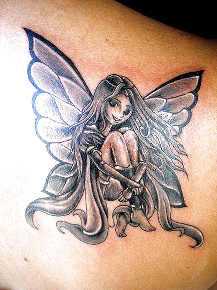 Nose Piercings Fairy Tattoo Designs Vintage Natural History Fairy Tattoo Designs Vintage Na In 2020 Gothic Fairy Tattoo Fairy Tattoo Black And Grey Tattoos