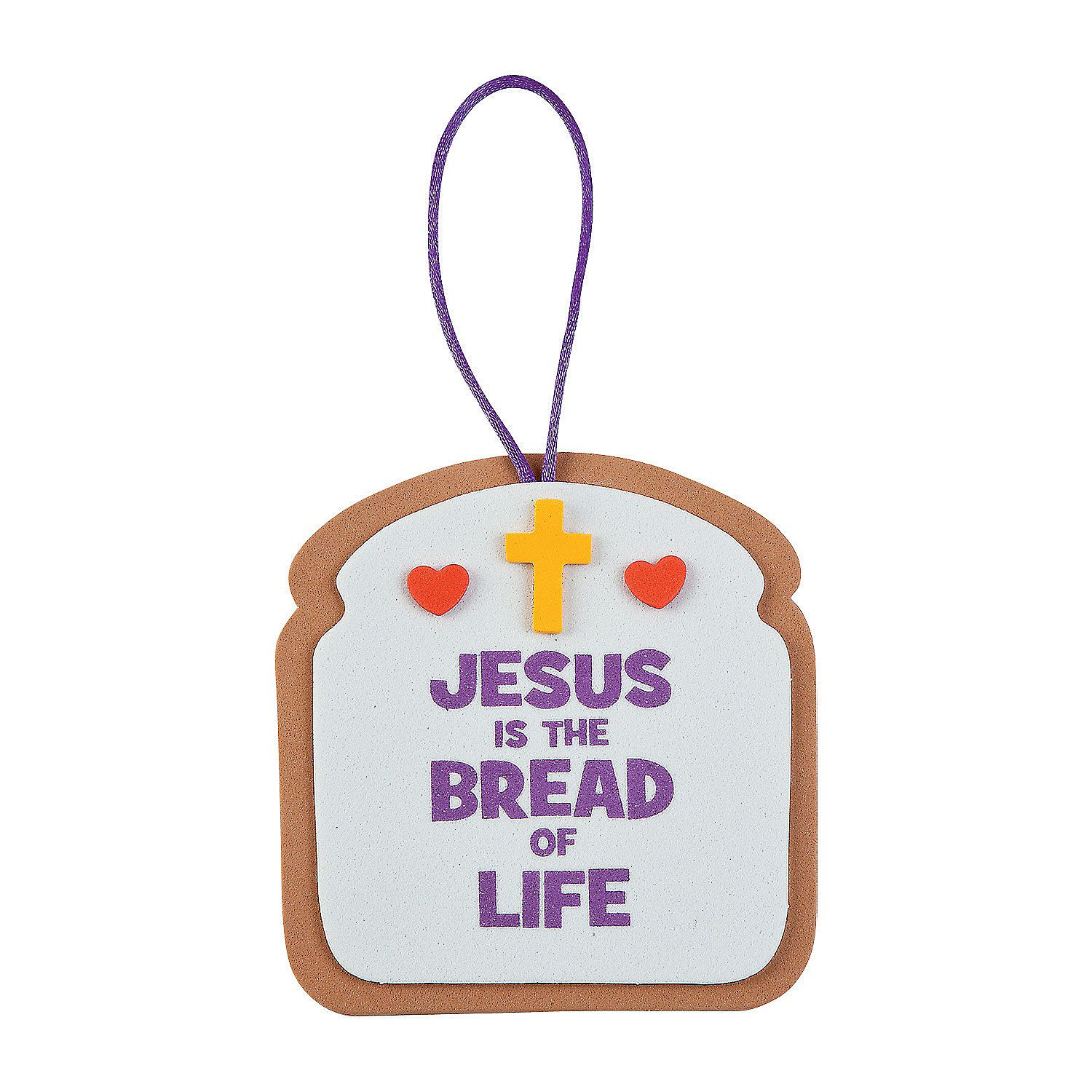 bread of life ornament craft kit orientaltrading com little