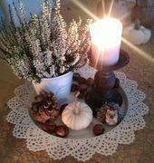 Photo of Høstdekorasjon – høstdekorasjon – # autumn dekorasjon # autumn dekorasjon # borddekorasjon …