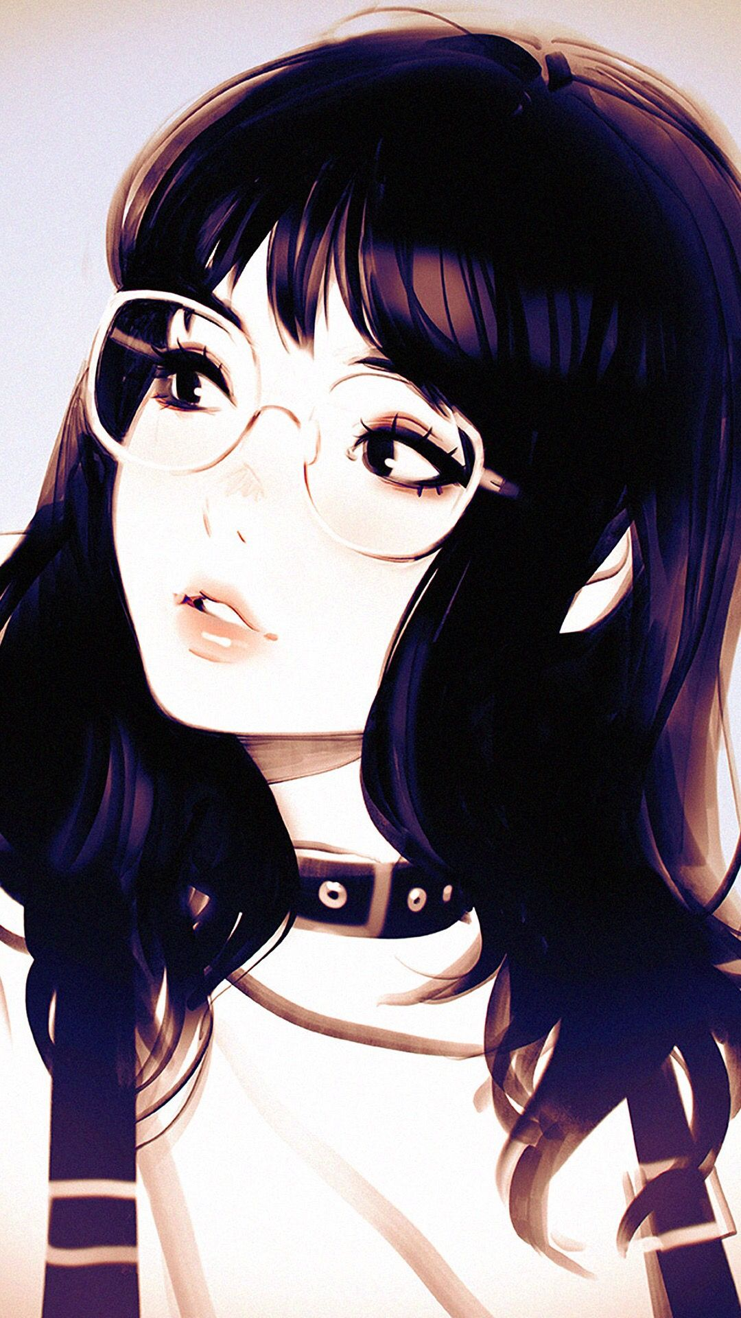 Anime Girl Spectacles