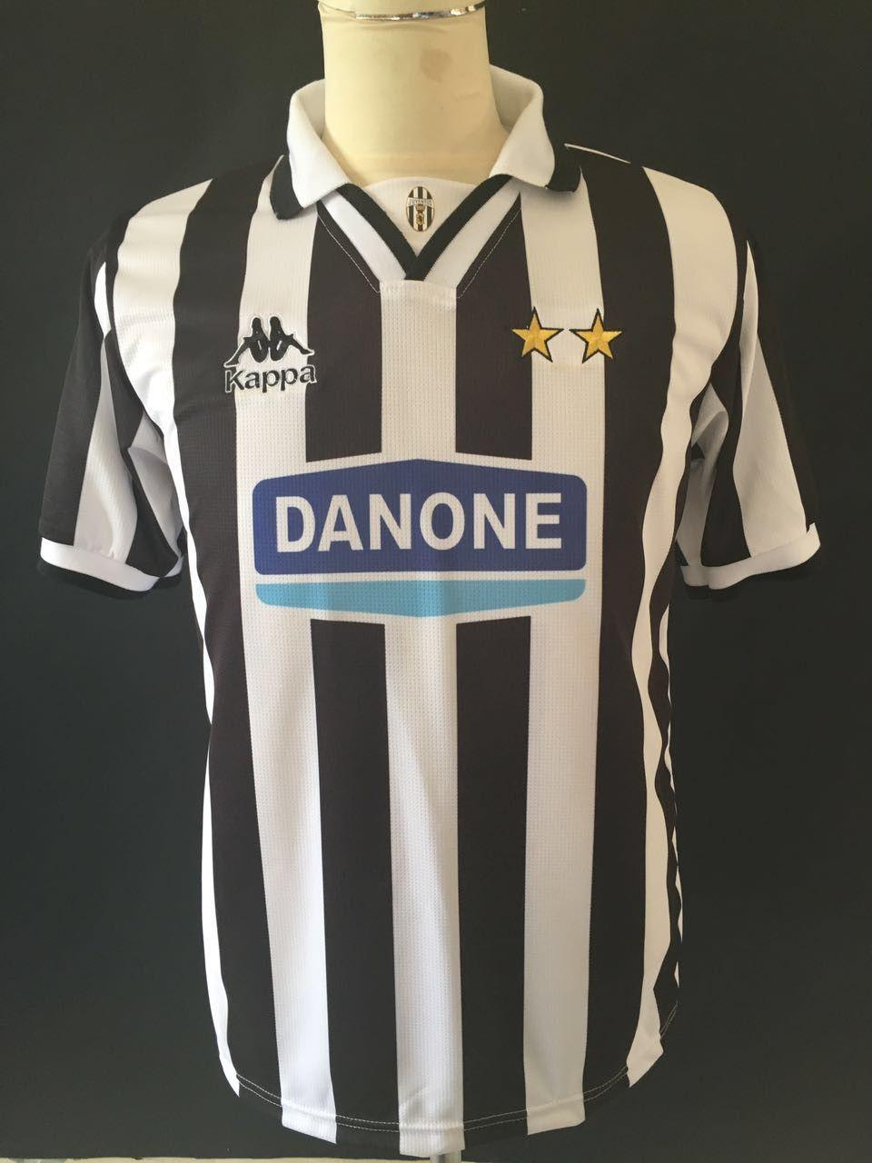 b206268b30a 1994 95 Juventus Home Shirt