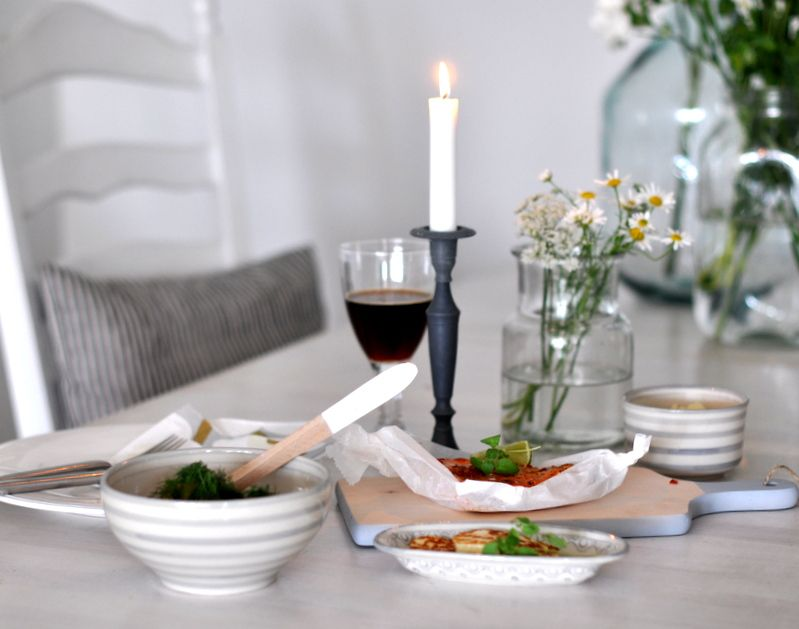 monday TO sunday HOME: DINNER FOR ONE