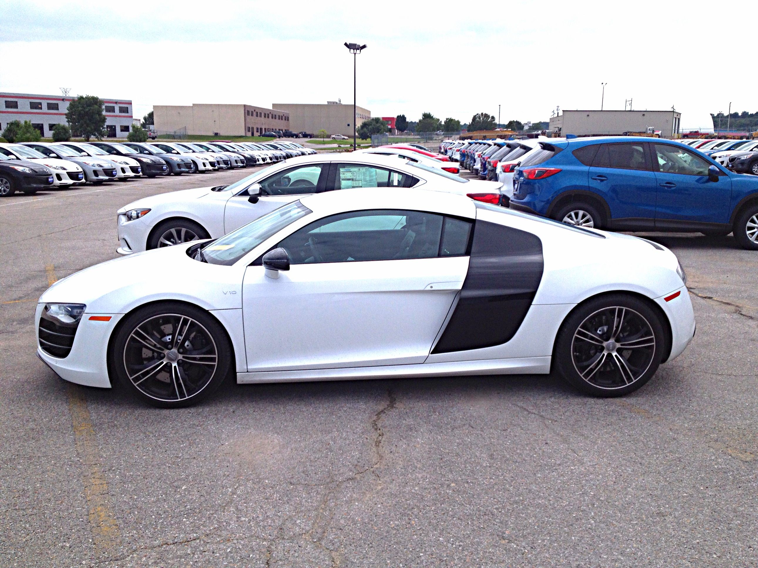 White on black Audi R8 | Cars & Motorcycles baby | Pinterest