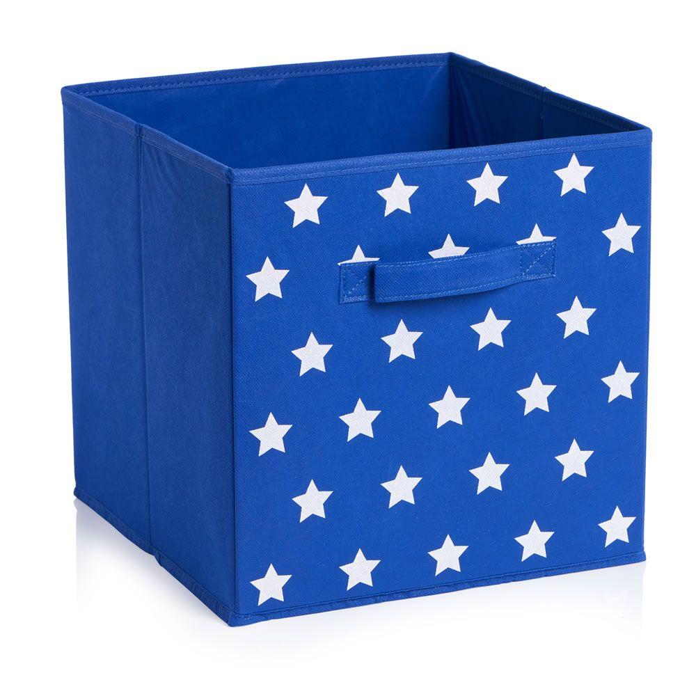 Wilko Storage Box Blue 30 x 30cm  sc 1 st  Pinterest & Wilko Storage Box Blue 30 x 30cm   Colourful nursery ideas ...
