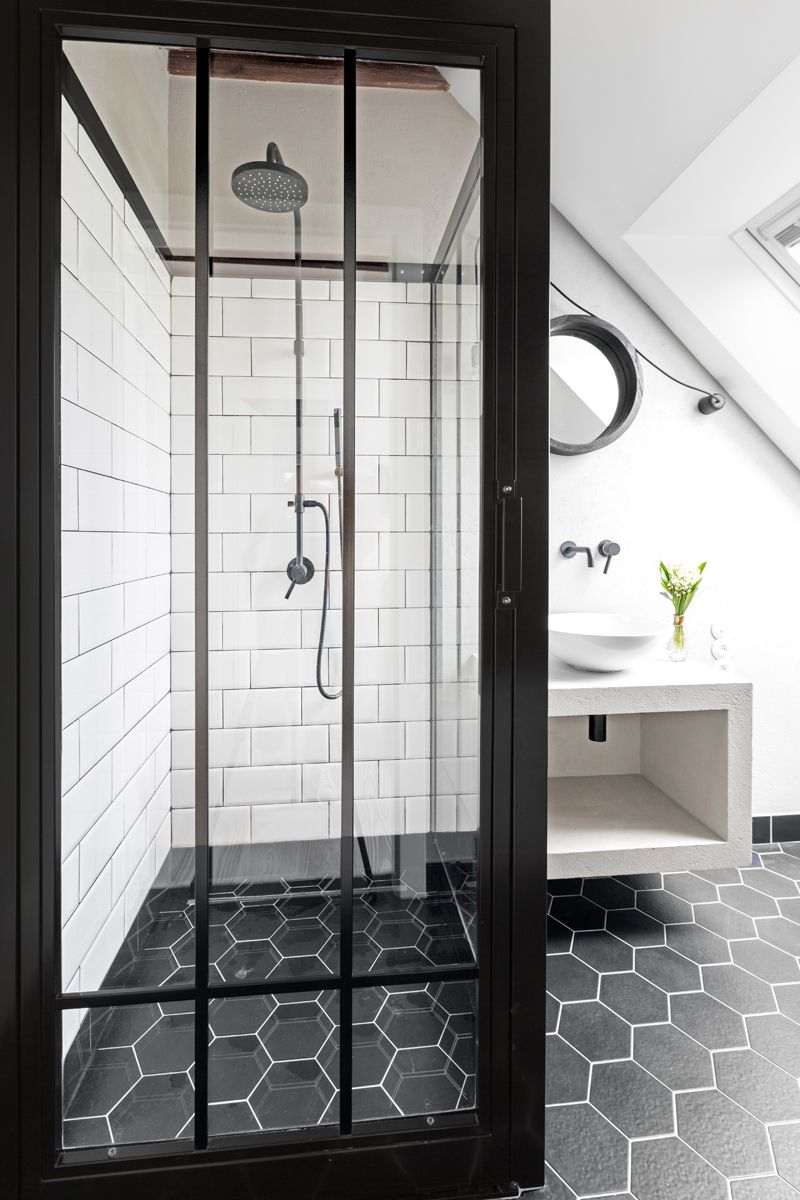 Related Image Scandinavian Bathroom Industrial Showers Bathroom