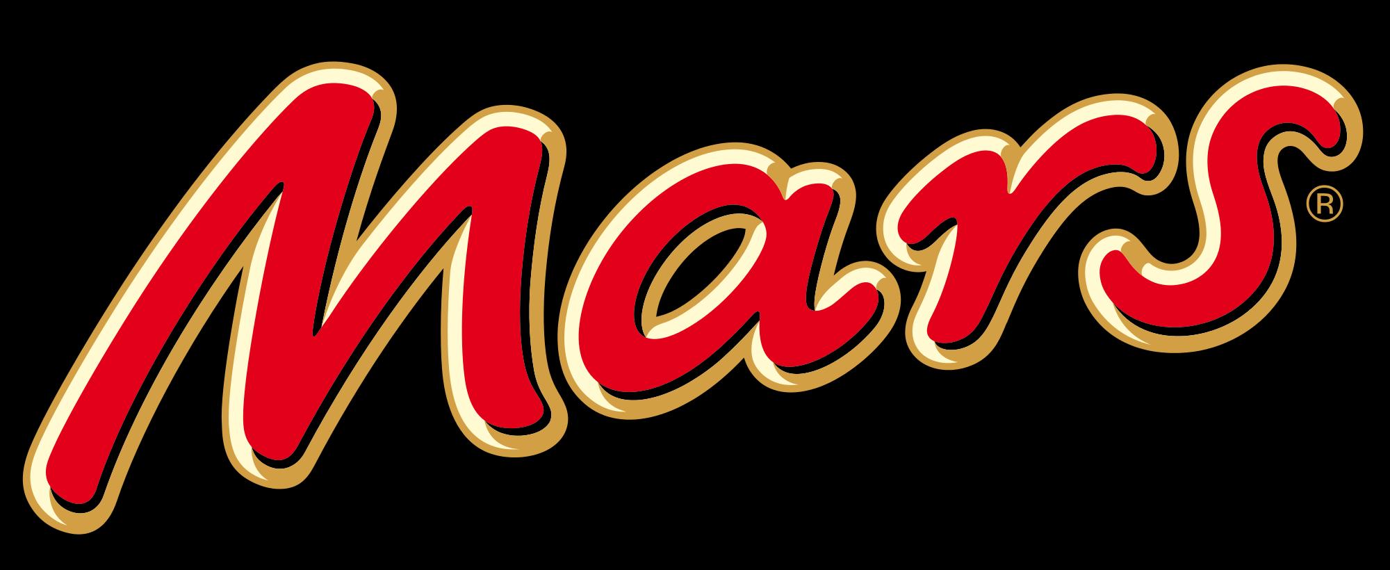 Mars Logo | Chocolate logo, Candy logo, Candy brands logo