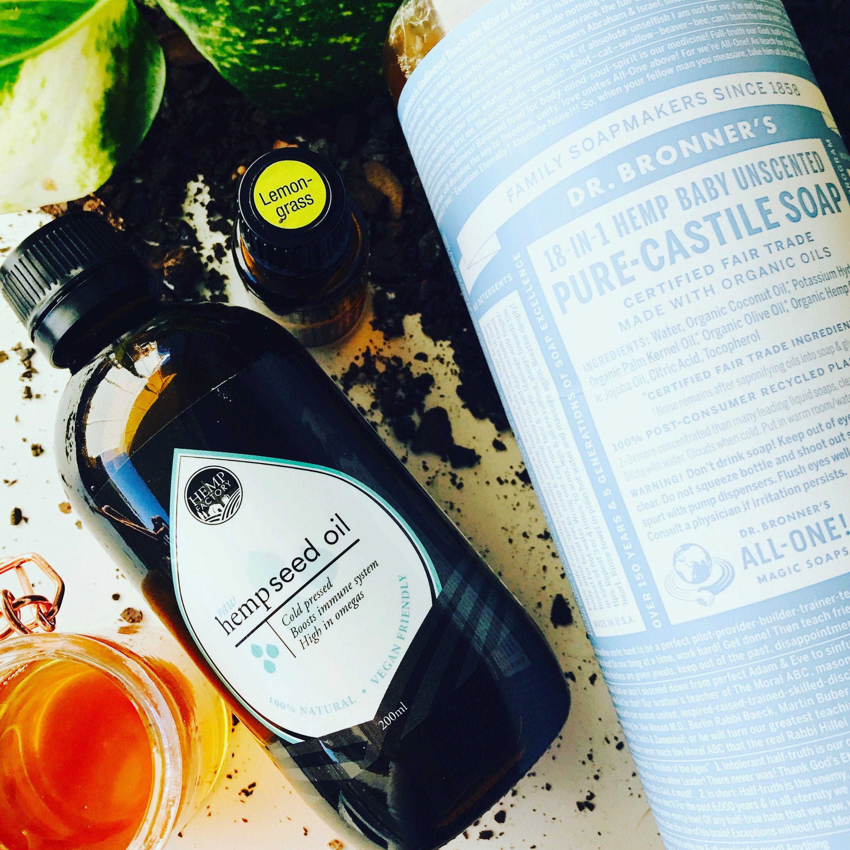 Hemp Seed Oil for Eczema Homemade Body Wash for Eczema