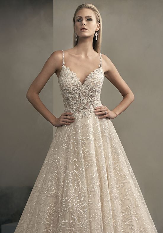Jasmine Couture T192063-2 Ball Gown Wedding Dress | Wedding ...