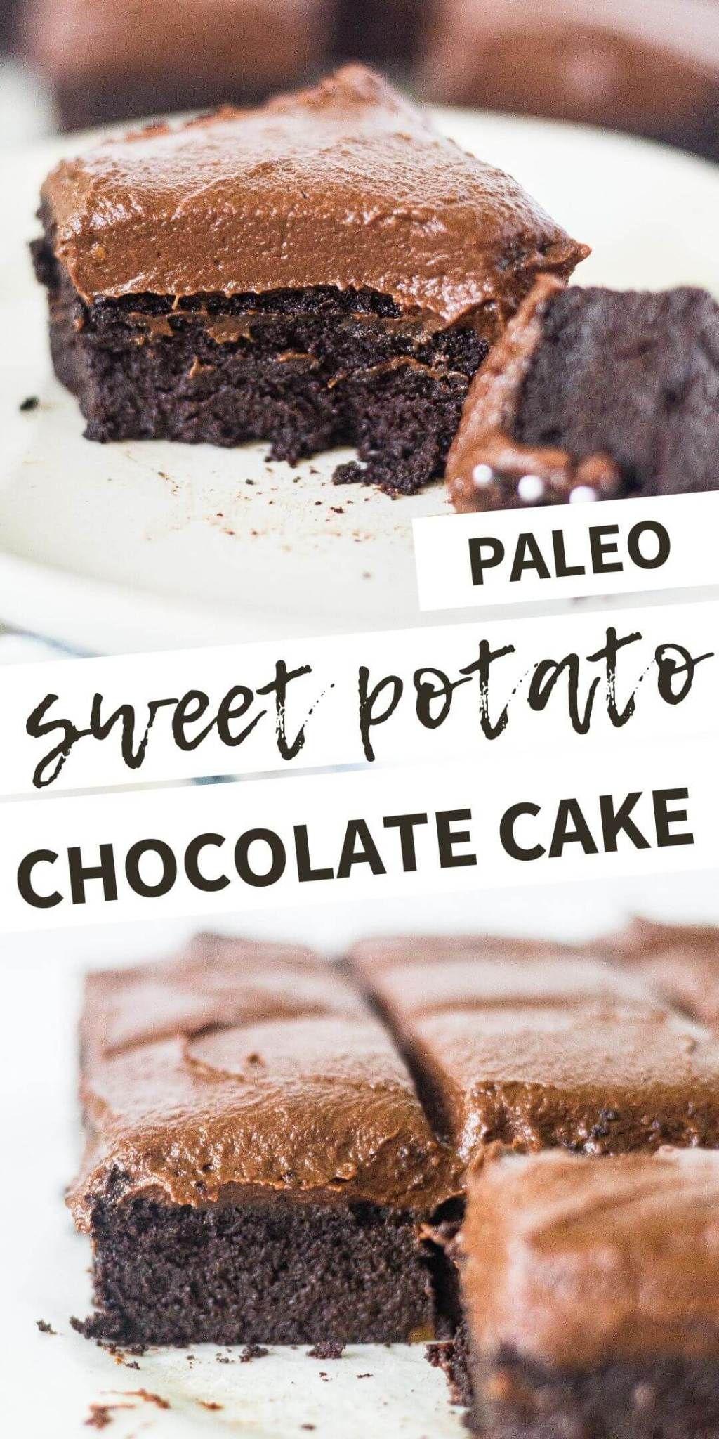 Sweet Potato Chocolate Cake [Gluten Free | Paleo]