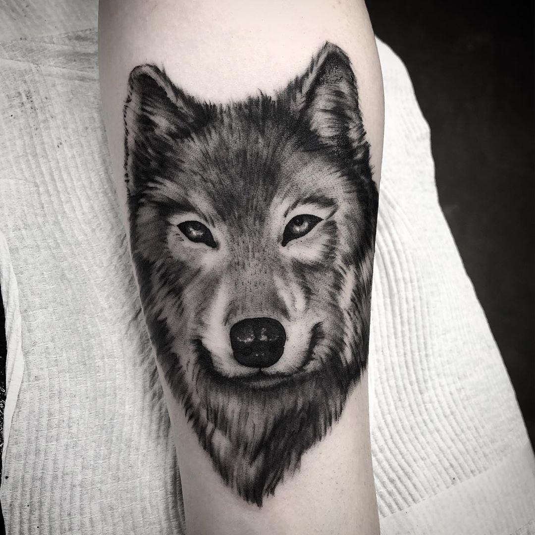 Tattoo by @ludo_mortuus using #darkhorseshadingblack . . Available to professional tattooers at www.luckysupply.co.nz and www.luckysupply.com  #darkhorseshadingblack #darkhorse #shading #blackandgrey #bngtattoo #bngsociety #bngartist #tattoo #newzealandtattoo #nztattoo #nztattooartist #tattooartist #newzealand #art #artist #blackwork #tttism #tttpublishing #demon #thedarkestwork #blackworkers_tattoo
