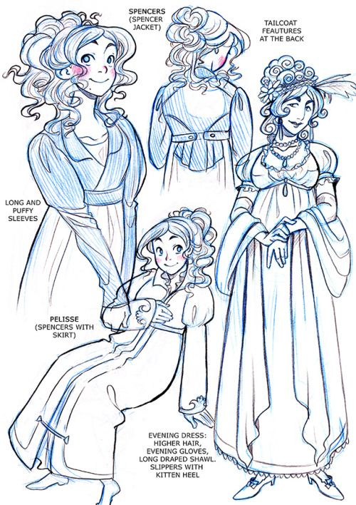 My Regency Fashion notes for ladies! Here are some Regency Fashion notes for men's evening wear. Here're some notes on White Tie and on Black Tie.